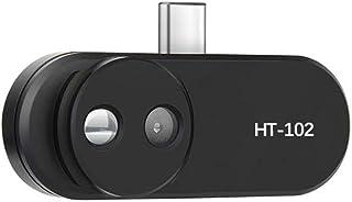 Alician - Termómetro de cámara de infrarrojos para teléfono móvil con sonda externa HT-102 OTG, función Android con adaptador y accesorios electrónicos
