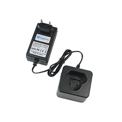 Trade-Shop 10,8V Li-Ion Akku Ladegerät Ladestation für Makita DA330DWE DA330DZ DF030 DF030D DF030DWE DF030DWX DF330 DF330D DF330DWE DF330DWEX2 DF330DWEX3 DF330DWLX DF330DWLX1 DF330DWXP DK1202 DK1202WX