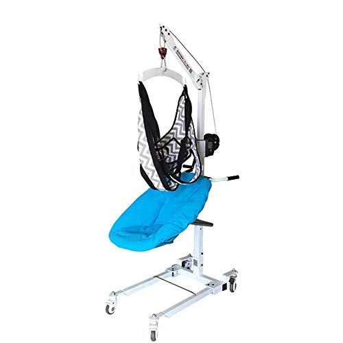 YEDENGPAO Antrieb Leichtklapp Rollstuhl, Leichtklapp Rollstuhl, Selbstfahr Tragbarer Rollstuhl Mit Lauf Bremsen, Removable Fußstützen, Armlehnen