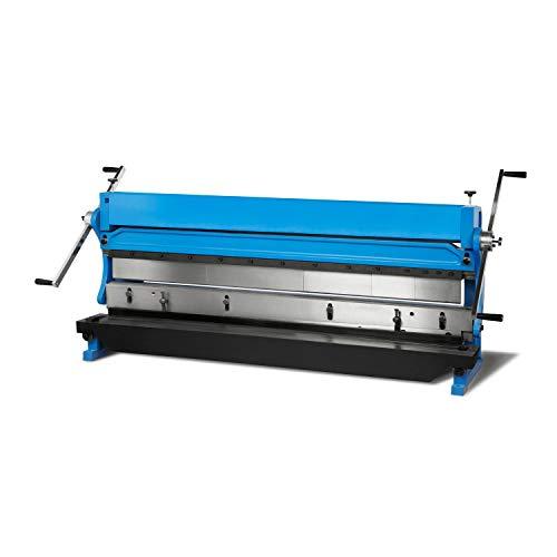 EBERTH 3in1 Abkantbank Rundbiegemaschine (Arbeitsbreite 1016mm, 3 Walzen, Schneiden, Biegen und Walzen von Metallblechen, Rohren und Profilen)