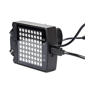 MeOkey Bicicleta Luz Intermitente Luces de Giro Carga USB Luces traseras para Bici