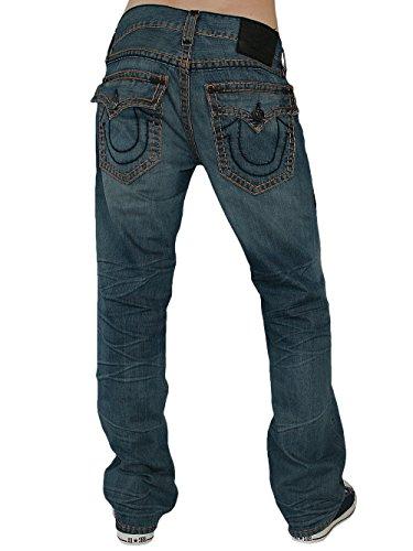 True Religion Hombre Diseñador Jeans Pantalones - Ricky Super T -33