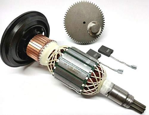 Rotor de motor y engranaje excéntrico para Bosch GSH 11 E, Berner BCDH-11, WÜRTH MH 10-SE