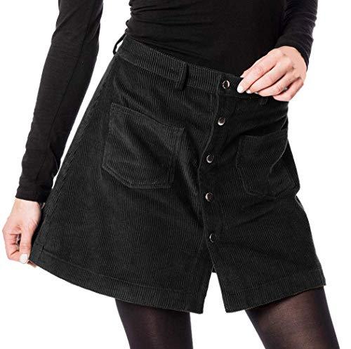 Moshiki Rock Skirt I-101 (1-Black, S- ca. 75cm Umfang)