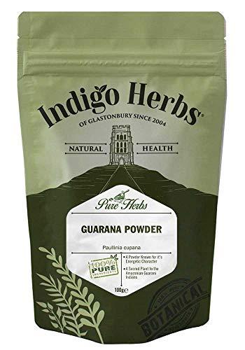 Indigo Herbs Guaranazaadpoeder 100g