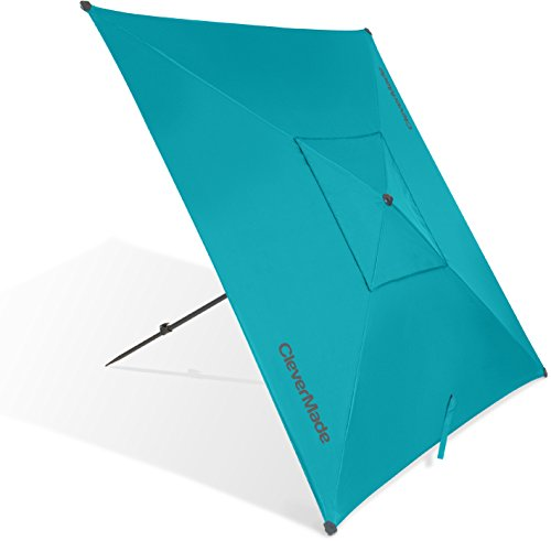 CleverMade Quadrabrella - Portable 5' Outdoor...
