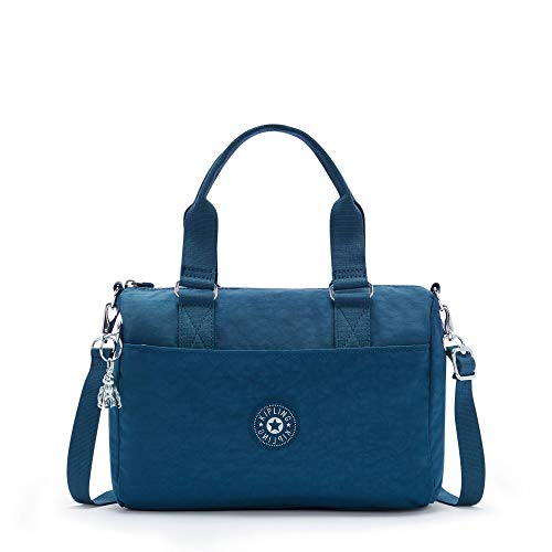 Kipling Folki Medium Handbag Night Teal