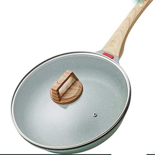 Sartén Antiadherente - Sarten Para Huevos Sartén De Inducción Pequeña Para Asar Carne, Cocinar Panqueques, Tortillas Y Más - Apta Para Lavavajillas,28CM