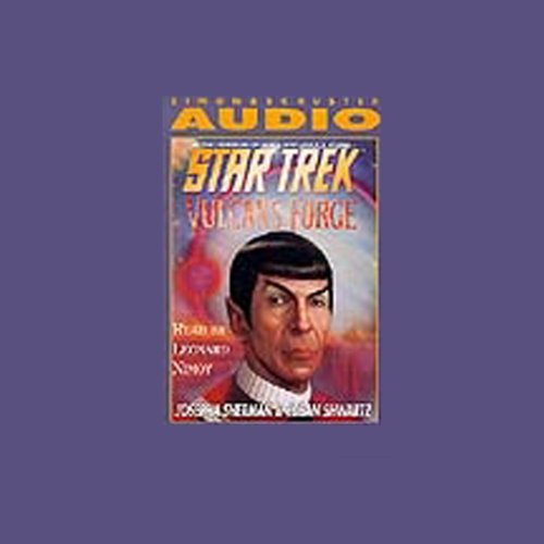 Star Trek: Vulcan's Forge (Adapted) audiobook cover art