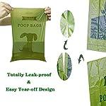 Dog Poop Bags Biodegradable 26 Rolls (390 Counts) Dispenser, Scented Leak-Proof Dog Waste Bags 12