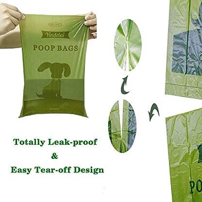 Dog Poop Bags Biodegradable 26 Rolls (390 Counts) Dispenser, Scented Leak-Proof Dog Waste Bags 6