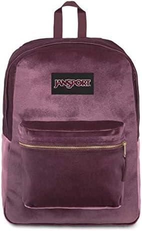 JanSport SuperBreak Dried Fig Backpack Lightweight School Pack Dried Fig product image