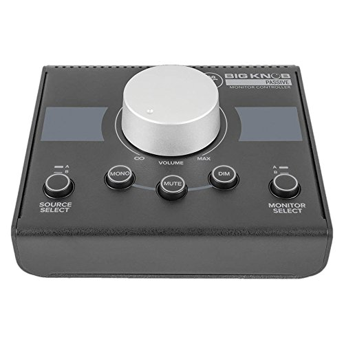 Mackie Big Knob Passive Studio Monitor Controller with 1 Year