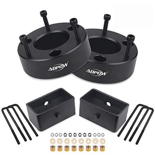 ADPOW Compatible with Leveling Kit 3' Front and 2' Rear Leveling Lift Kit Chevy/GMC/Silverado1500/Sierra 1500 2007-2019 Lift Kit