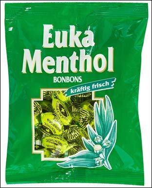 Bodeta Euka Menthol Bonbons 150g