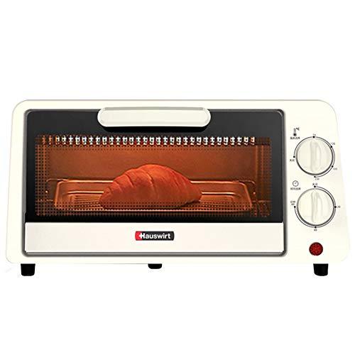 Toaster oven Ménage Petit 11L Multifonction Grille-Pain Four Mini Four À Petit Déjeuner en Acier Inoxydable Chauffage Tube 60 Minuterie Minuterie Plateau de Cuisson 800 W Blanc