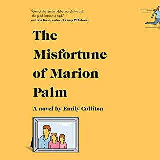 The Misfortune of Marion Palm audiobook cover art