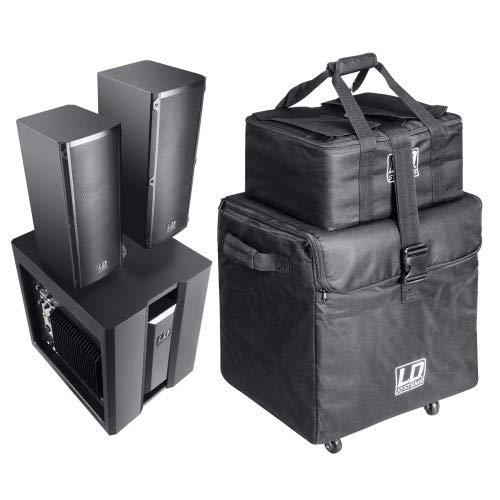 LD Systems Dave 8 Roadie System BK inkl. Transport Bag Set