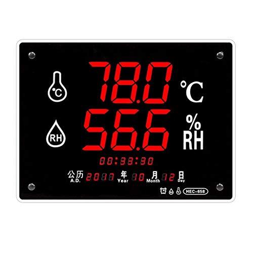 MRZ Termometro Domestico igrometro Digitale per Neonato, Montato a Parete con Staffa