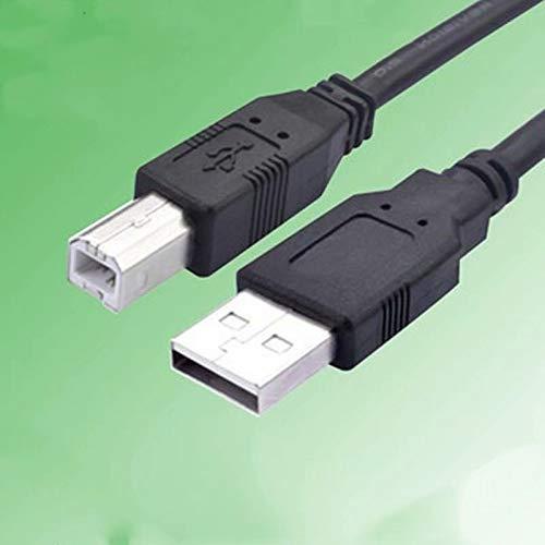 Druckerkabel für Canon Pixma, Epson, HP, Samsung, Kyocera, Brother Drucker Scanner USB 2.0 A-B Neu 3m