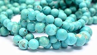 Arizona Turquesa Cuentas Redondas Graduadas Suaves de 4 mm a 7 mm | Perlas de piedras preciosas semipreciosas de turquesa ...