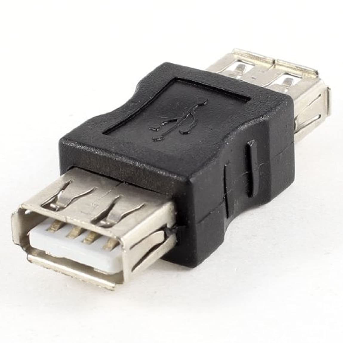 音節目覚めるメロドラマDealMux USB 2.0?Tipo A FêMEA paraメスF / FコネクタアダプタPreto