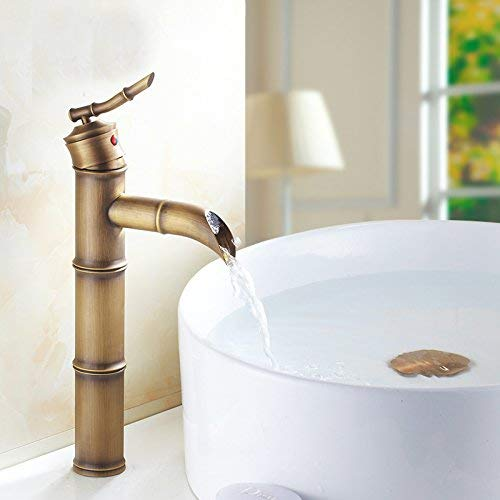 Waschtischmischer Wasserhahn Badmischbatterie Waschtischarmatur mit Dreiloch-Waschtischmischer