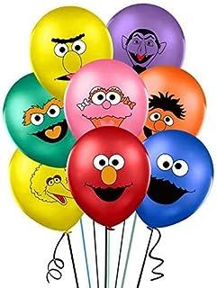 "40PCS Sesame Inspired Street Balloons for Sesame Street Theme Birthday Party Supplies 12"" Latex Balloons for Kids Baby Sho..."