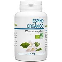 Espino Orgánico - 270mg - 200 cápsulas vegetales