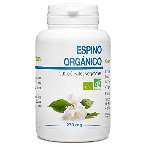 Espino Organico - 270mg - 200 capsulas vegetales