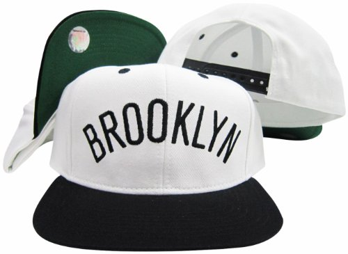 Adidas Brookyln Nets Solid Word Casquette ajustable Blanc