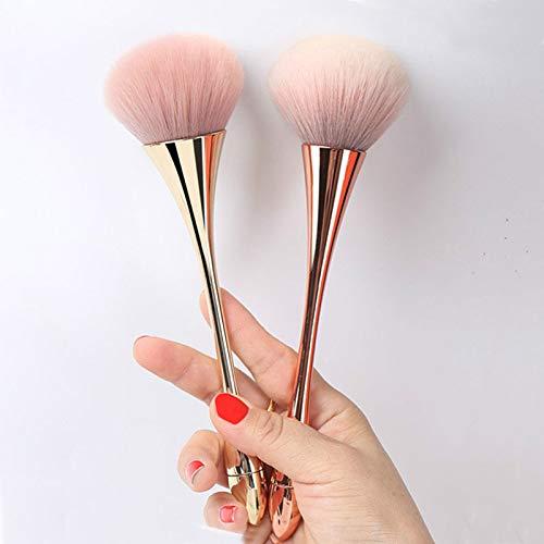 Pinceaux de Maquillage 1 Pcs Professionnel Fan Maquillage Brosse Mélange Surligneur Contour Visage Poudre Libre Pinceau