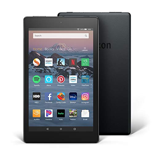 Fire HD 8 Tablet (8' HD Display, 16 GB) - Black (Previous...