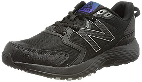 New Balance MT410V7, Zapatillas para Carreras de montaña Hombre, Black, 44.5 EU