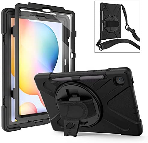 Galaxy Tab S6 Lite Case with Screen Protector TSQ Heavy Duty Hard Rugged Protective Case with product image