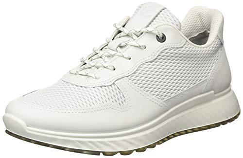 Ecco Herren ST.1M Sneaker, Weiß (White 1007), 43 EU