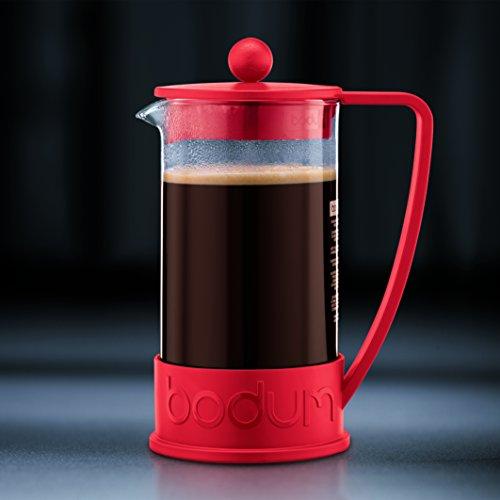 Bodum BODUM ボダム BRAZIL フレンチプレスコーヒーメーカー 0.35L レッド 10948-294 [7491]