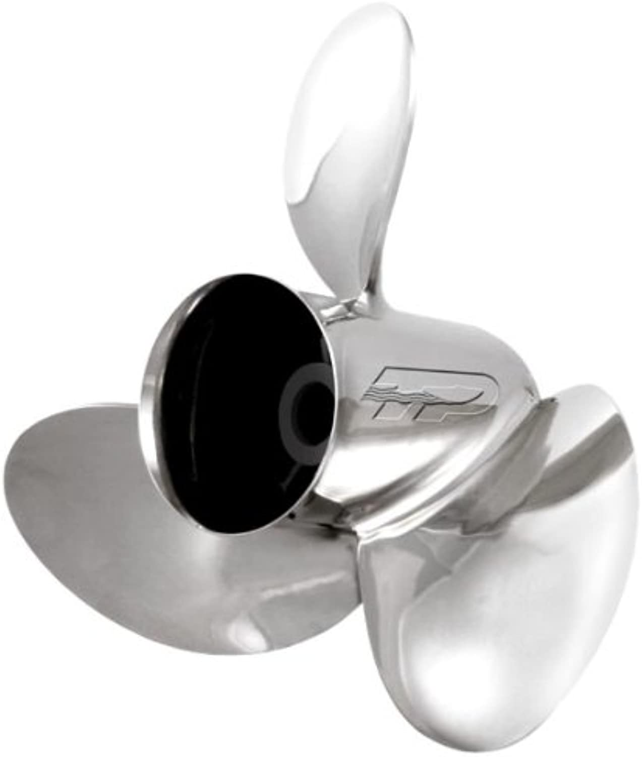 Turning Point Propellers VO1619L Marine Voyager Stainless Steel 3 Blade Left Propeller