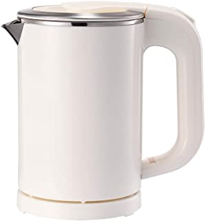 BonNoces Portable Electric Kettle – 0.5L Small Stainless Steel Travel Kettle..