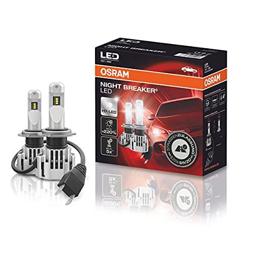 H7 Osram Night Breaker Halogen-LED Licht für den Audi A3 (H7 Fassung