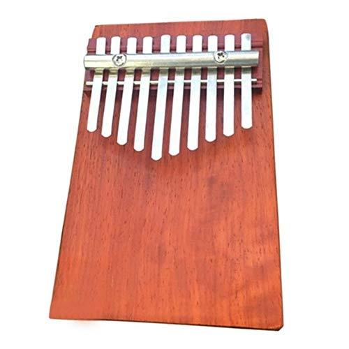 Affordable Portable 10 Key Finger Traditional Wood Finger Kalimba Thumb Piano Pocket Size Keyboard M...