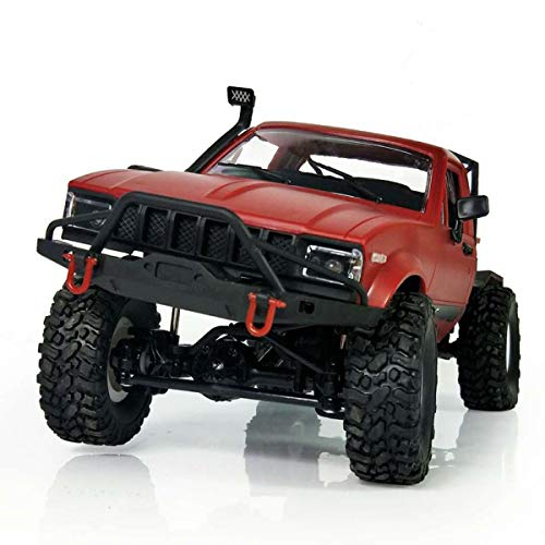 Nihlsen 1:16 WPL C14 Escala 2.4G Mini todoterreno RC Semi-camión RTR niños subir camión juguete