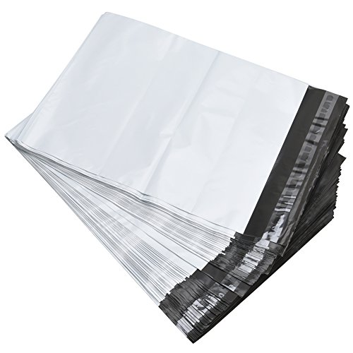 MFLABEL 100 Pack 6X9 Poly Mailers Shipping Bags Shipping Mailing Envelopes Bags 2.5 Mil Thick