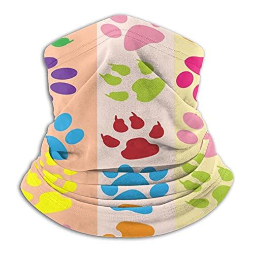 vfgty369 Máscara facial unisex de microfibra con diseño de flamenco, color rosa, Negro, Talla única