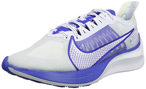 Nike Zoom Gravity, Zapatillas de Entrenamiento para Hombre, Blanco (White/Clear/Racer Blue/Football Grey 100), 43 EU