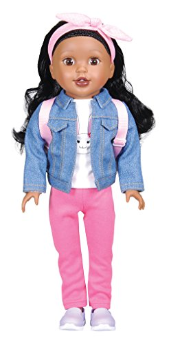 "Bumbleberry Girls 15003 Kids Danica Girl Doll, Black Hair, 15"" (Amazon Exclusive)"