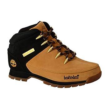 Timberland Euro Sprint Hiker, Bottes Homme, Jaune Wheat Nubuck w/Black, 43 EU