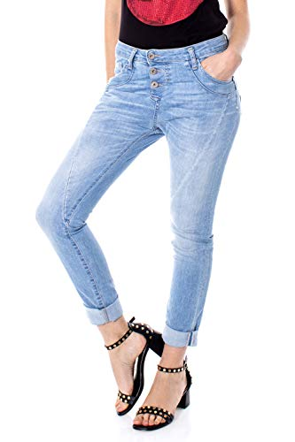 Please Damen Jeans P78 Baggy P78abq2dqh Gr. Large, Denim Clair