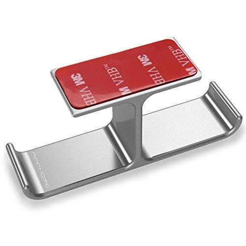 Soporte para Auriculares Gaming Apphome de Aluminio Portátil Fácil de Instalar(Plata)
