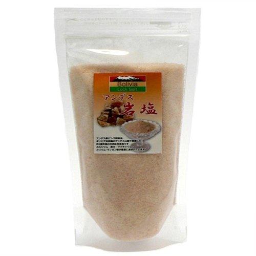 アンデス岩塩 ピンクソルト・パウダー(食用)3kg ピンク岩塩